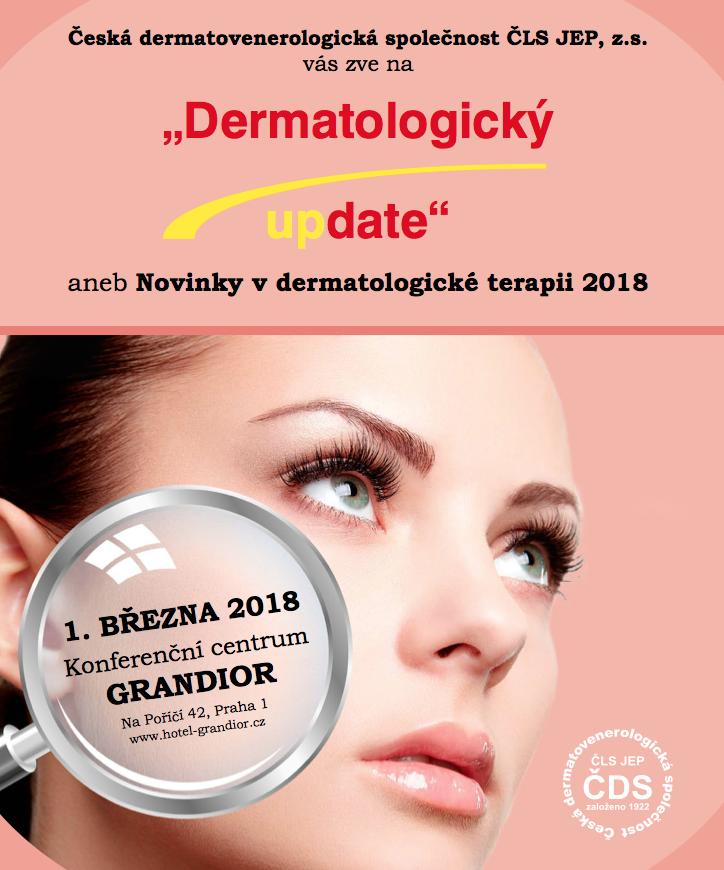 Dermatologický UpDate 2018 Praha